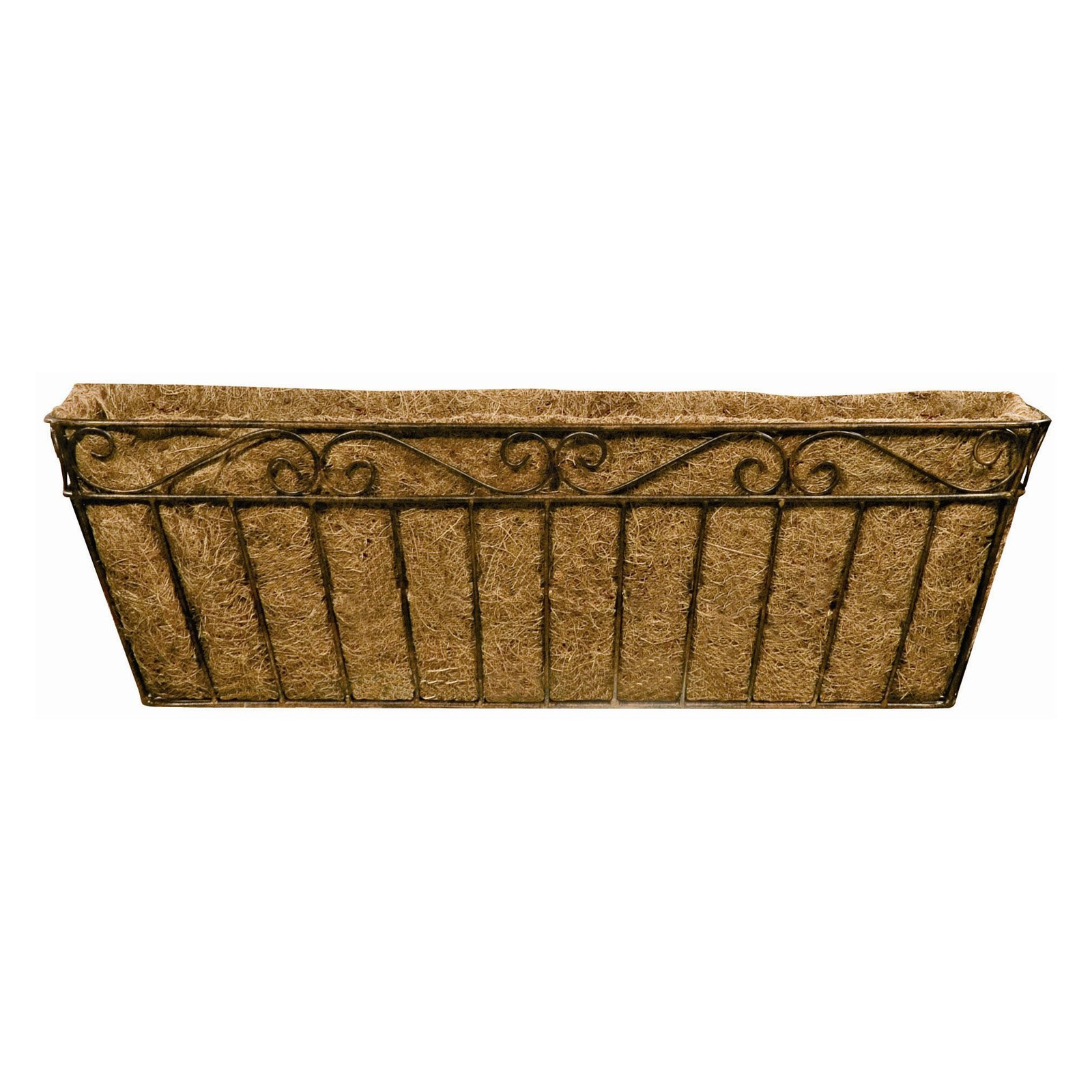 Window Box Png - Deer Park Ironworks Imperial Window Box with Coco Liner - Walmart.com