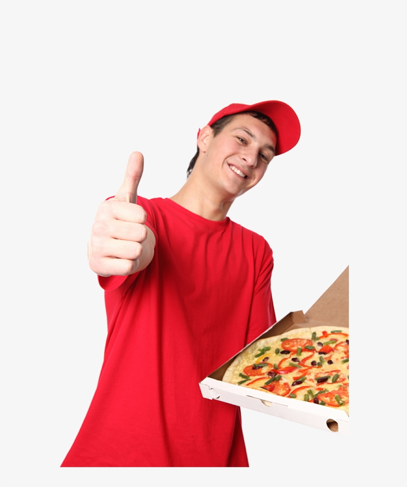 Delivery Guy Png - Delivery Png Download - Pizza Delivery Guy Png Transparent PNG ...