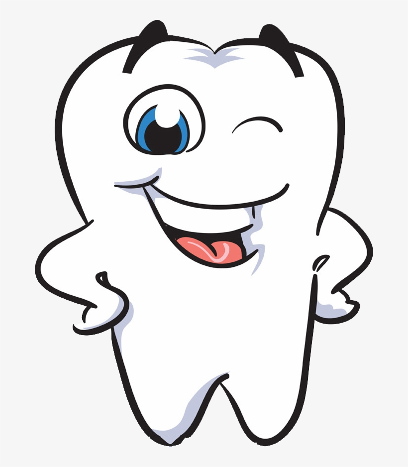 Dental Clipart - Dental Clipart Human Tooth - Smiling Tooth PNG Image | Transparent ...