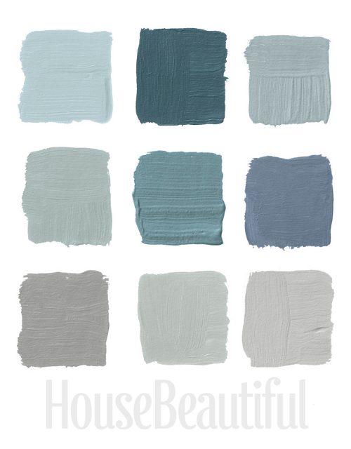 Gray And Blue Png - Designers Pick Their Favorite Gray Paints