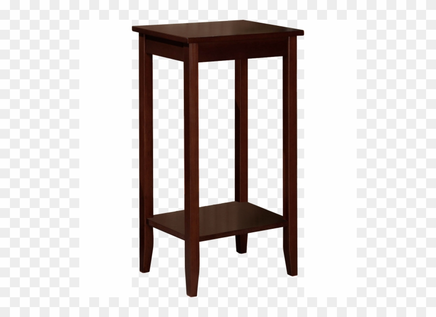 End Table Clipart - Dhp Rosewood Tall Small Space Square End Table Coffee Clipart ...