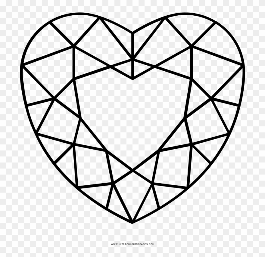 heart color page | Shape coloring pages, Coloring pages for kids ... | 854x880