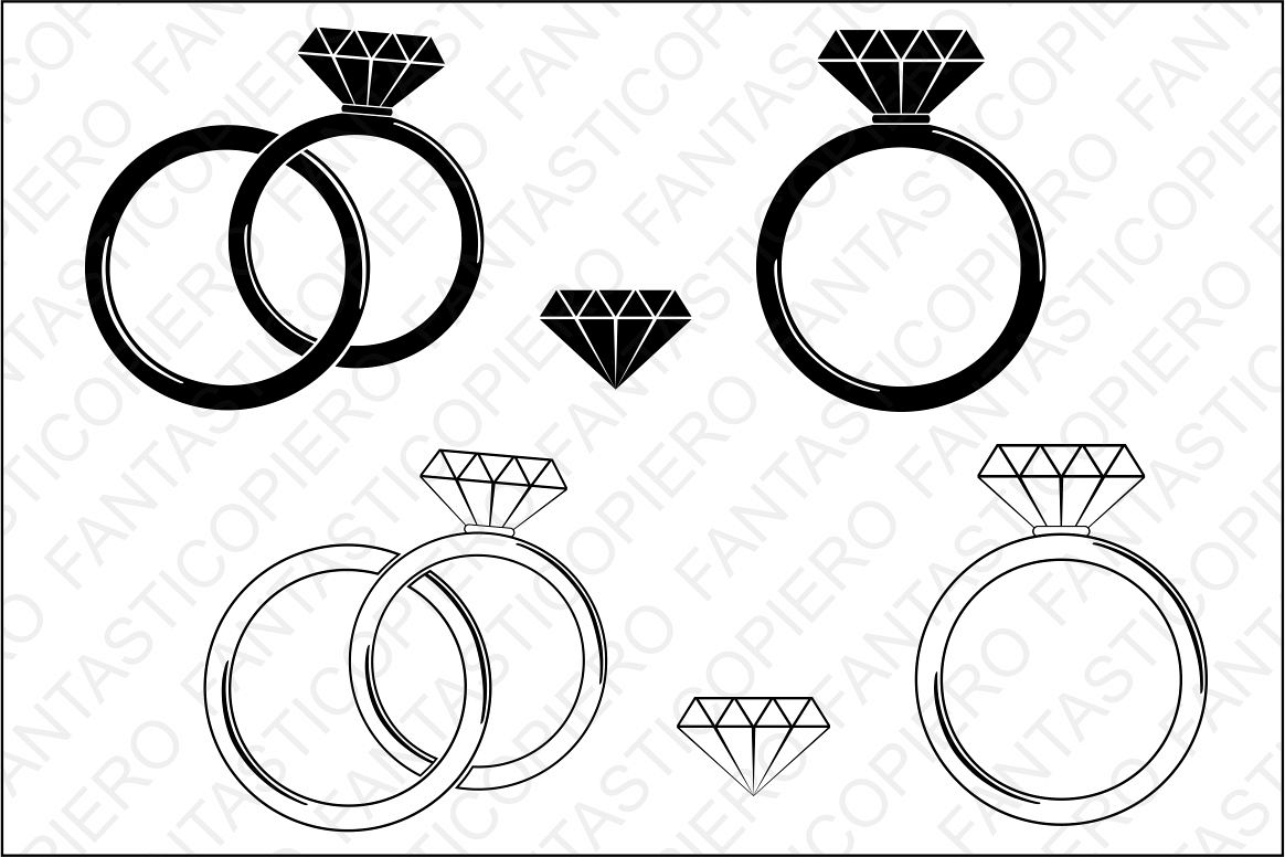 Diamond Ring Clipart Png - Diamond ring clipart png 5 » Clipart Station