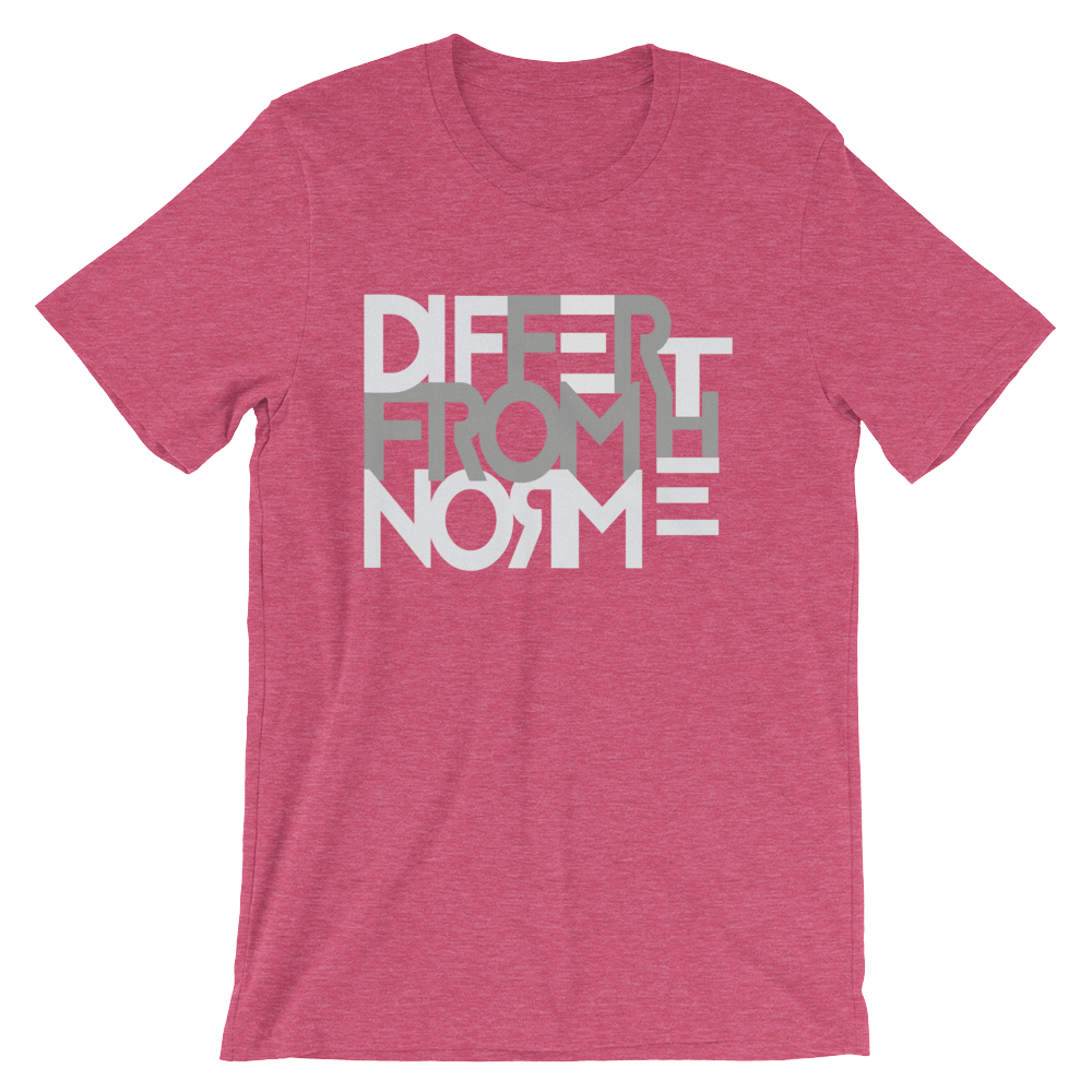 Differ Png - Differ From The Norm - Unisex T-Shirt (MULTIPLE COLORS ...