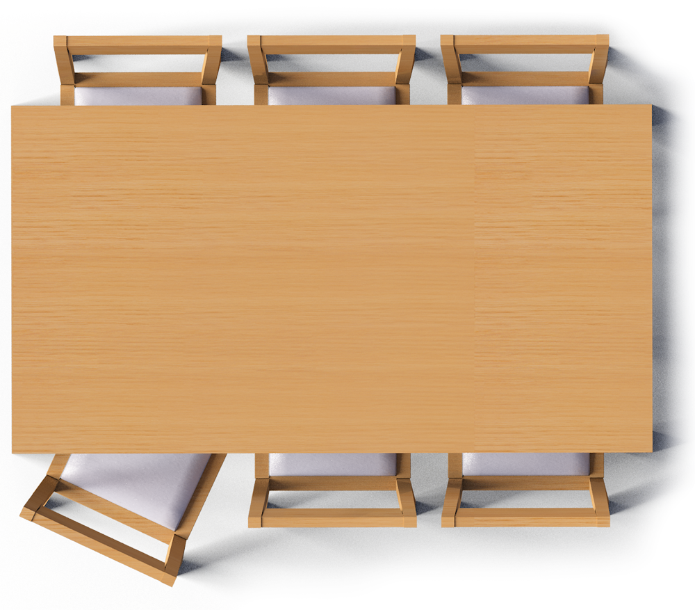 Dining Table Top View Png Images Portabl #1063004 - PNG ...