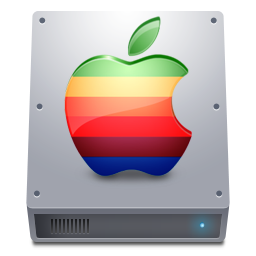 Apple Disk Image Png - Disk HDD Apple Icon | Phuzion Iconset | Kyo-Tux
