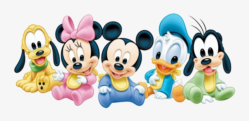 Baby Mickey Mouse Png - Disney Baby Png - Baby Mickey Mouse And Friends Transparent PNG ...