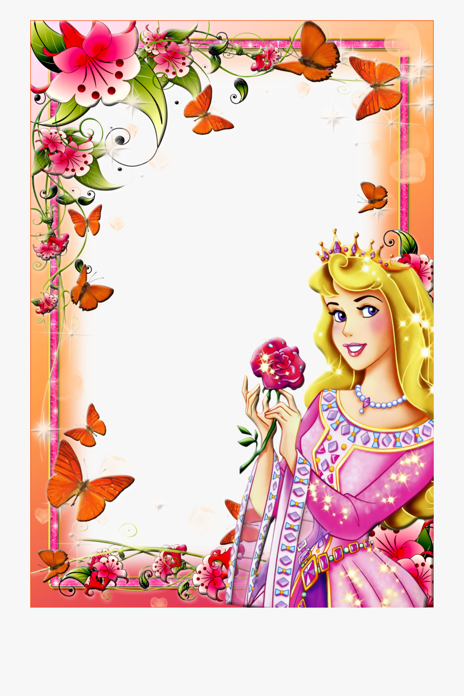 Cartoon Butterfly Border Png Free Cartoon Butterfly Border Png Transparent Images 107921 Pngio