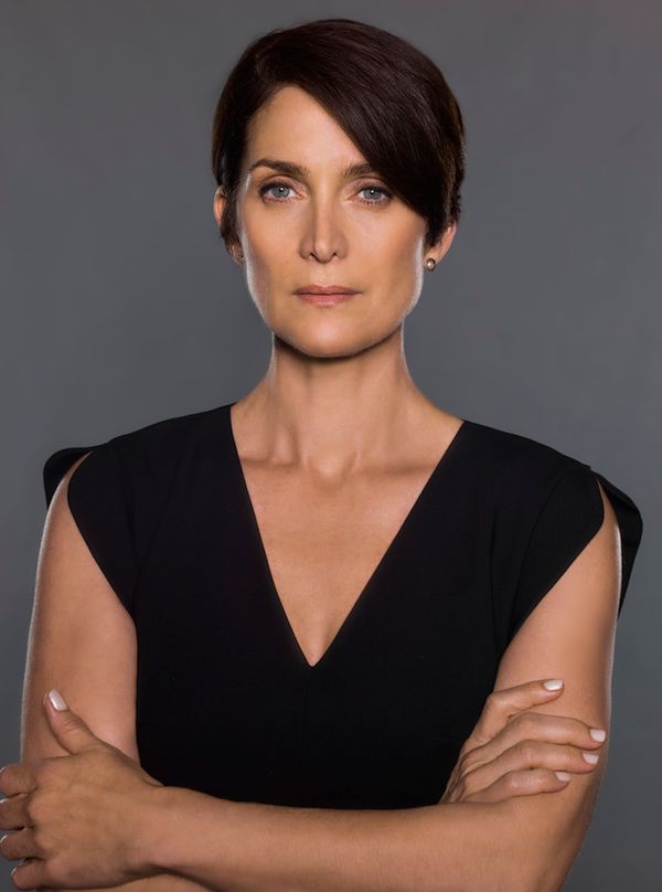 "Carrieanne Moss Png - DIVA Magazine on Twitter: ""Carrie-Anne Moss on playing Marvel's ..."