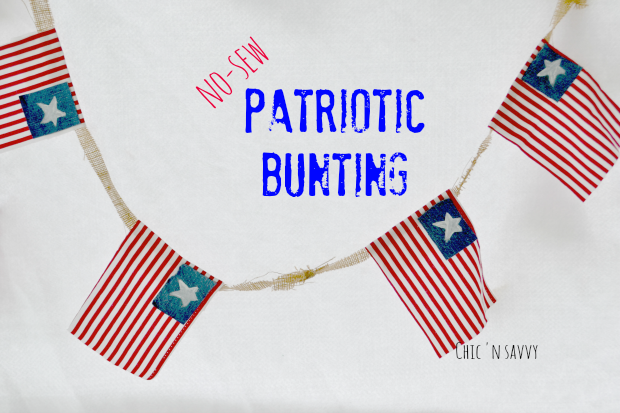 Old Fashioned Patriotic Bunting Png - DIY Patriotic Bunting Craft - Perfect for Memorial Day or 4th of ...