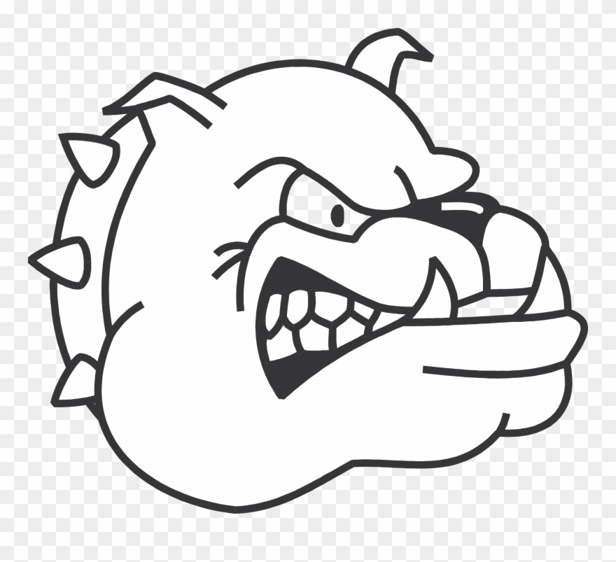 Mean Bulldog Png - Dogs Clipart Bulldog - Draw A Mean Dog - Png Download (#282082 ...