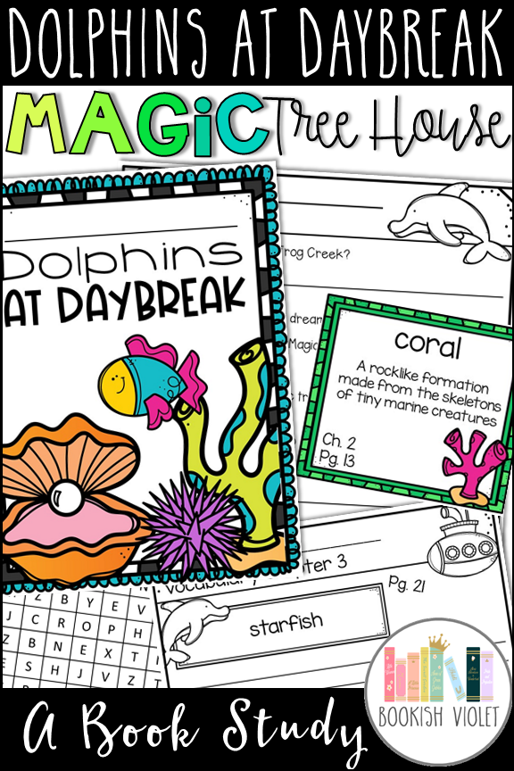 Dolphins At Daybreak Png - Dolphins at Daybreak Magic Tree House Book Companion | Magic tree ...