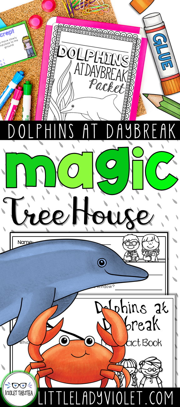Dolphins At Daybreak Png - Dolphins at Daybreak Magic Tree House | Magic treehouse, Dolphins ...