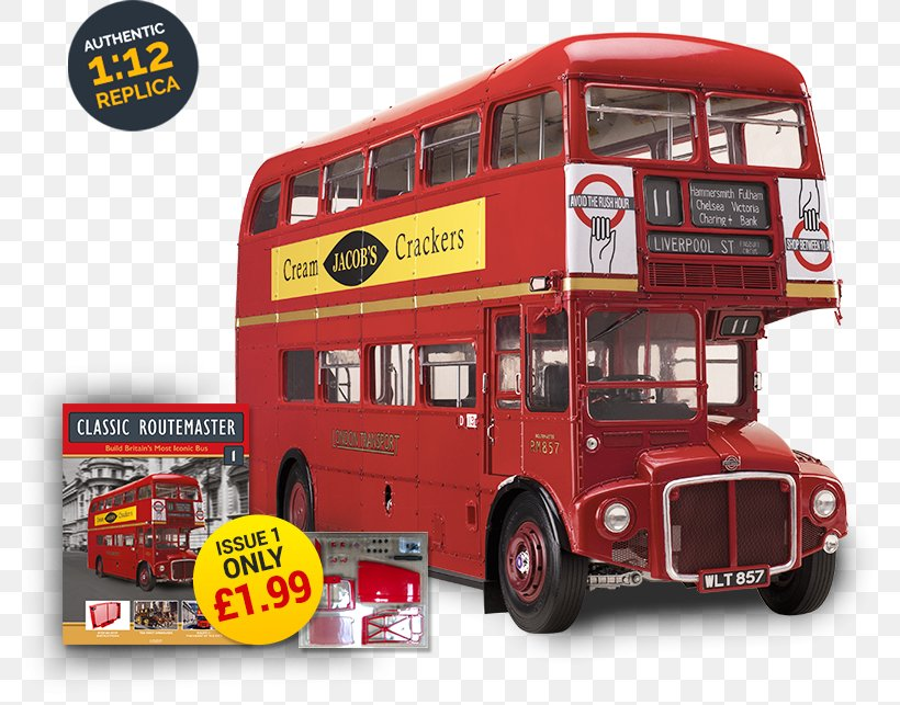 New Routemaster Png - Double-decker Bus AEC Routemaster New Routemaster Routemaster ...