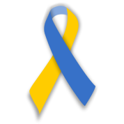 Down Syndrome Awareness Ribbon Png Free Down Syndrome Awareness