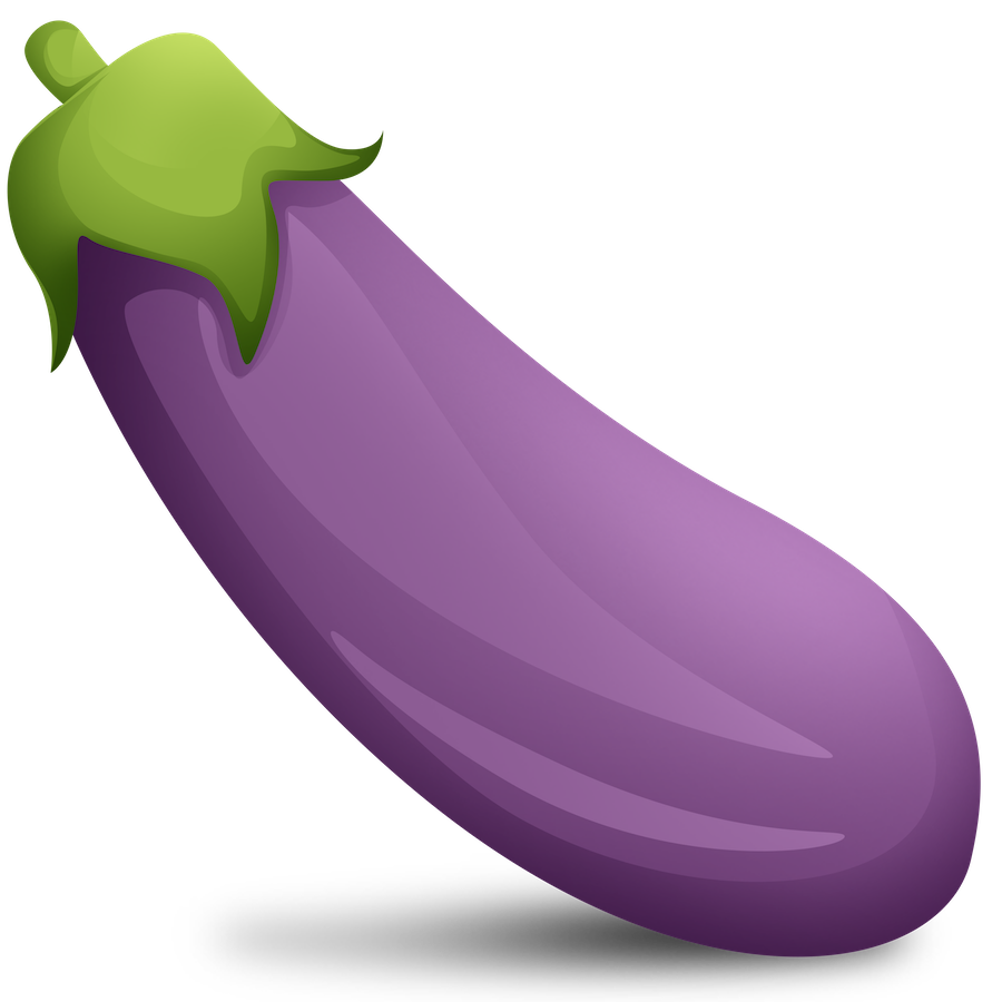 Eggplant Emoji Png - Download Baba Telegram Sticker Ghanoush Eggplant Emoji HQ PNG ...