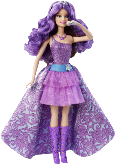 Doll Dress Png Images - Download BARBIE DOLL Free PNG transparent image and clipart