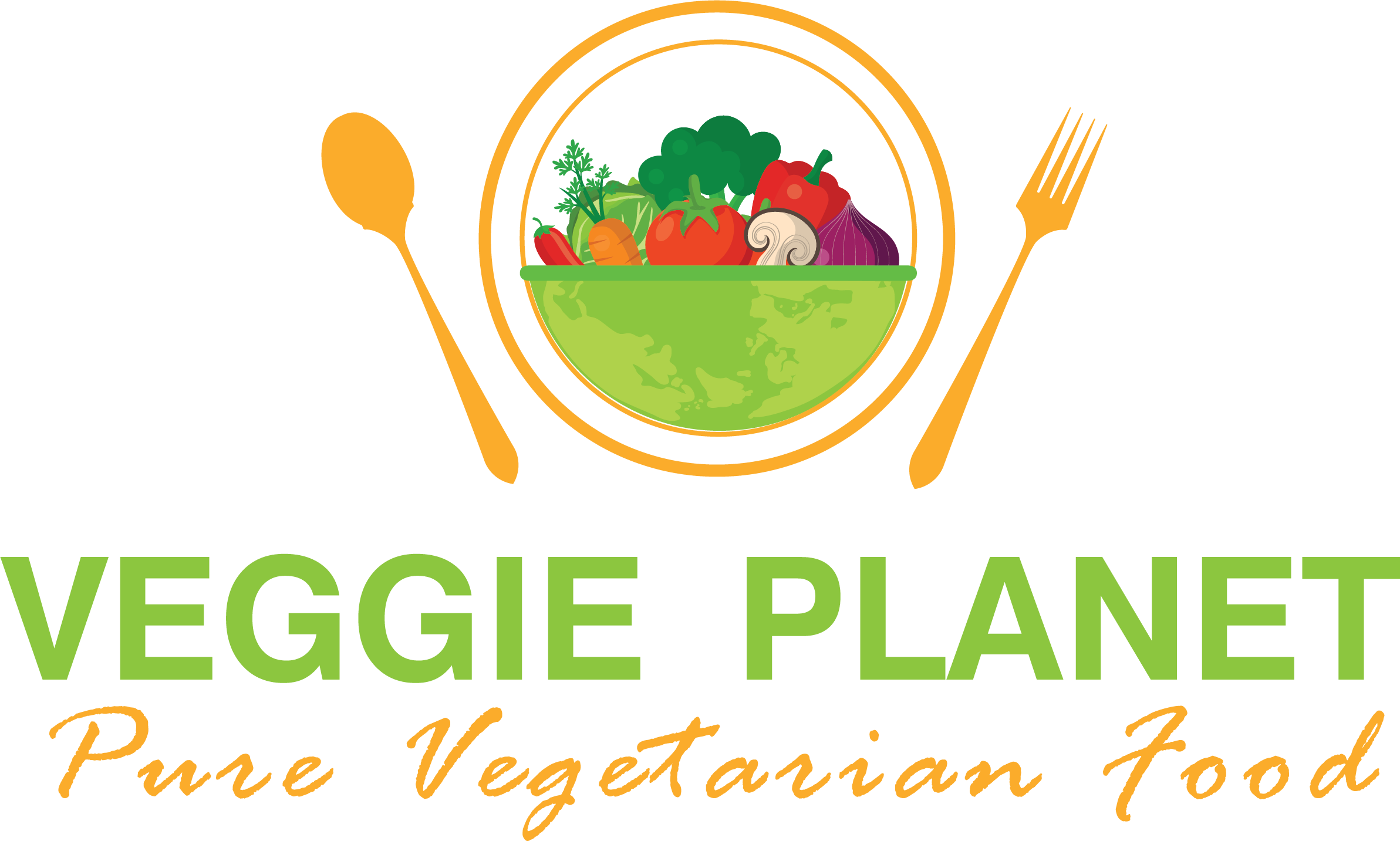 Vegan Planet Png - Download Best Vegan Food In Mississauga - Vegetarian Food Logo Png ...