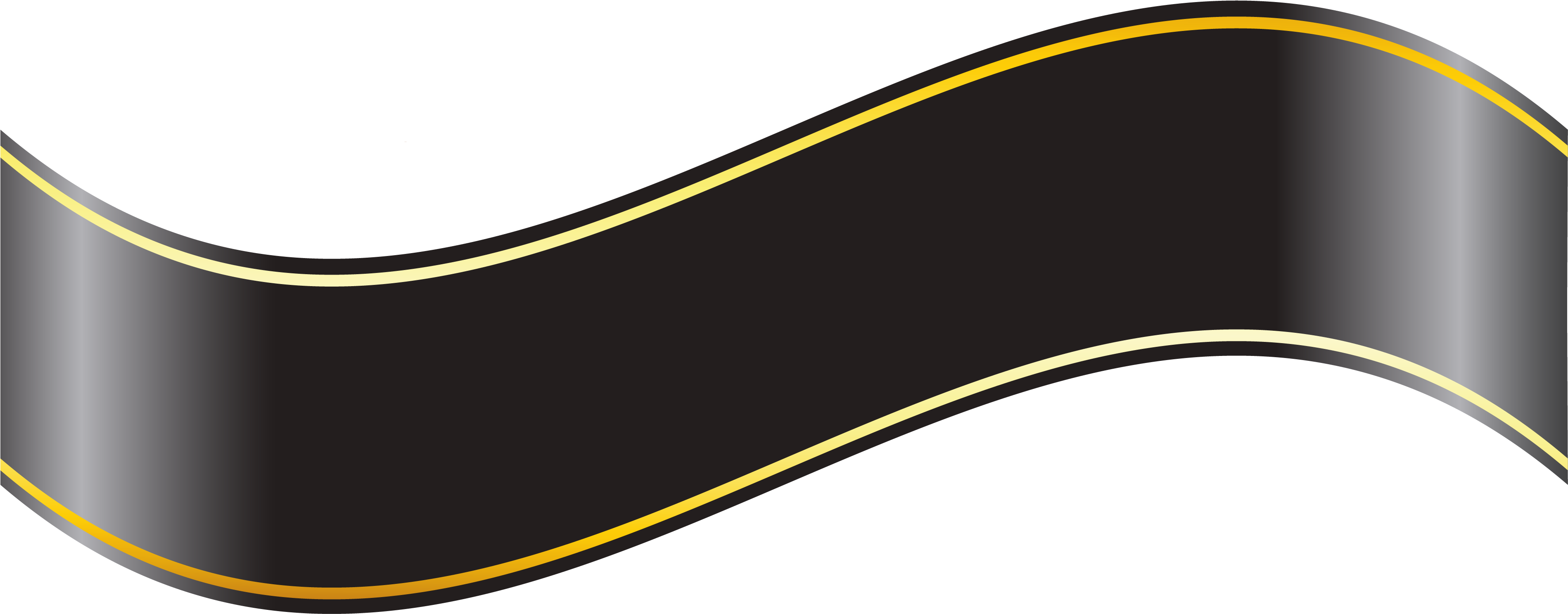 Black And Gold Ribbon Png Free Black And Gold Ribbon Png Transparent Images 107315 Pngio