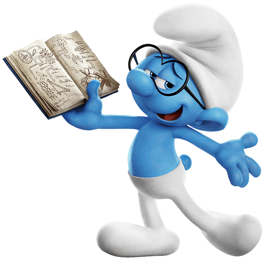 Brainy Smurf Png - Download Brainy Smurf PNG Image for Free