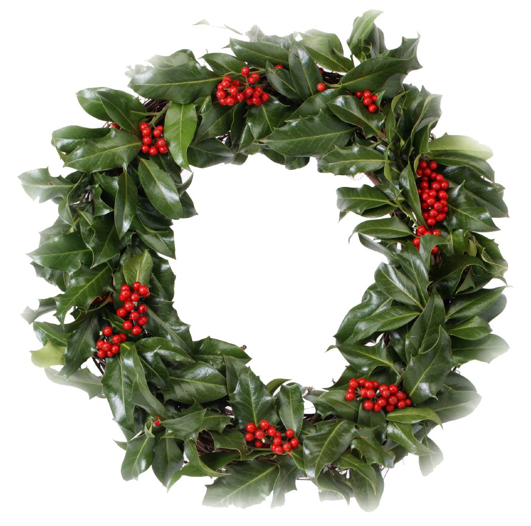 Transparent Christmas Wreath - Download Christmas Wreath PNG Transparent Picture - Free ...