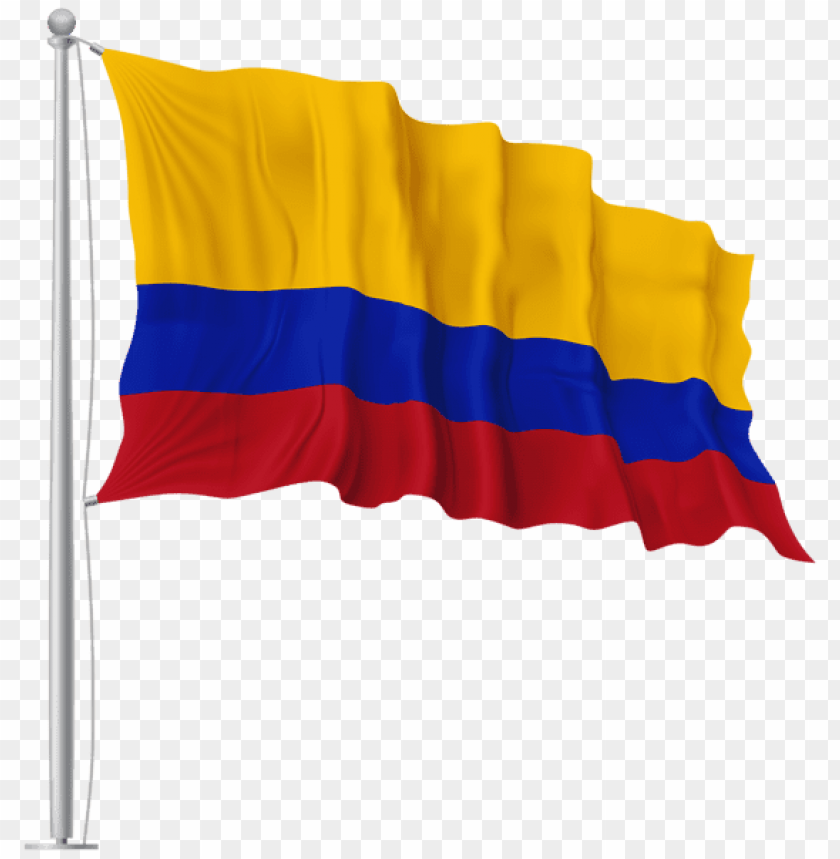 Flag Of Colombia Png - Download colombia waving flag clipart png photo   TOPpng