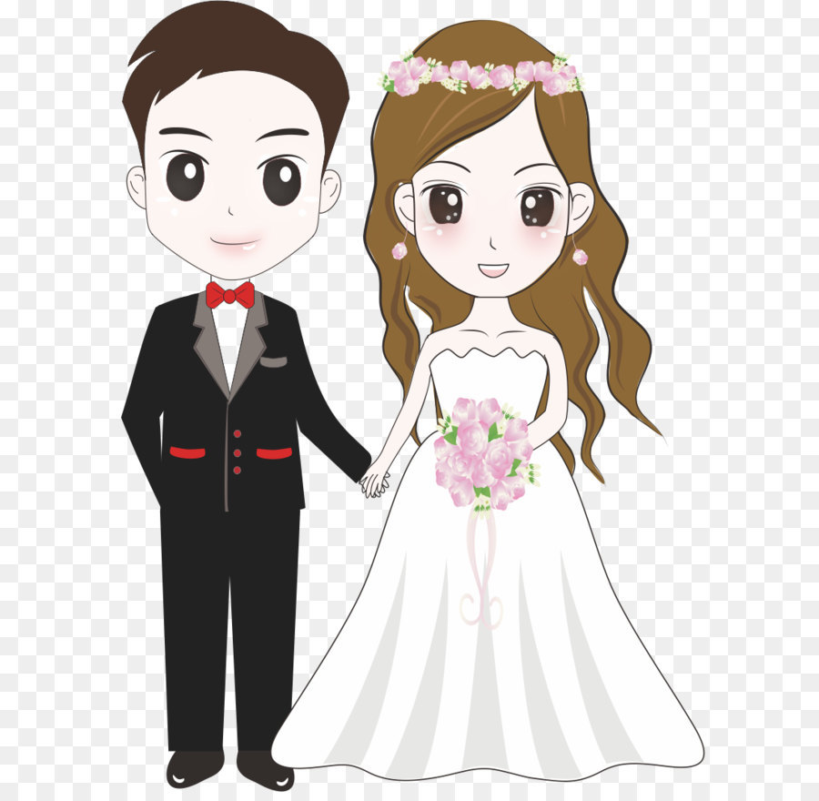Cartoon Bride & Free Cartoon Bride Transparent