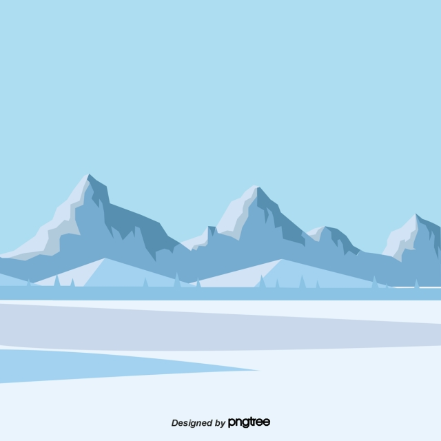 Cartoon Arctic Png - Download Free png Cartoon Blue Glacier Scenery, Iceberg, Ice And ...