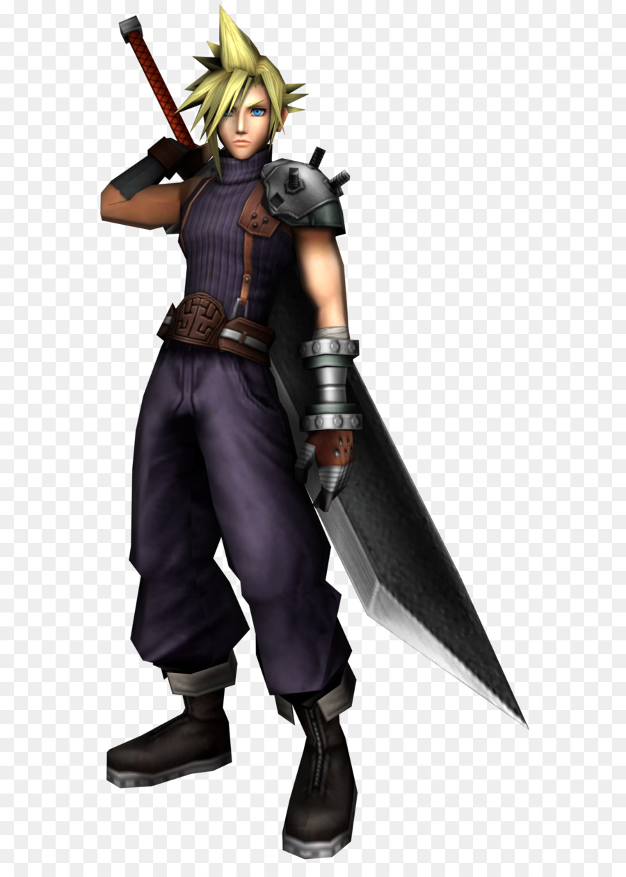 Final Fantasy Cloud Png - Download Free png Cloud Strife Final Fantasy VII Dissidia Final ...