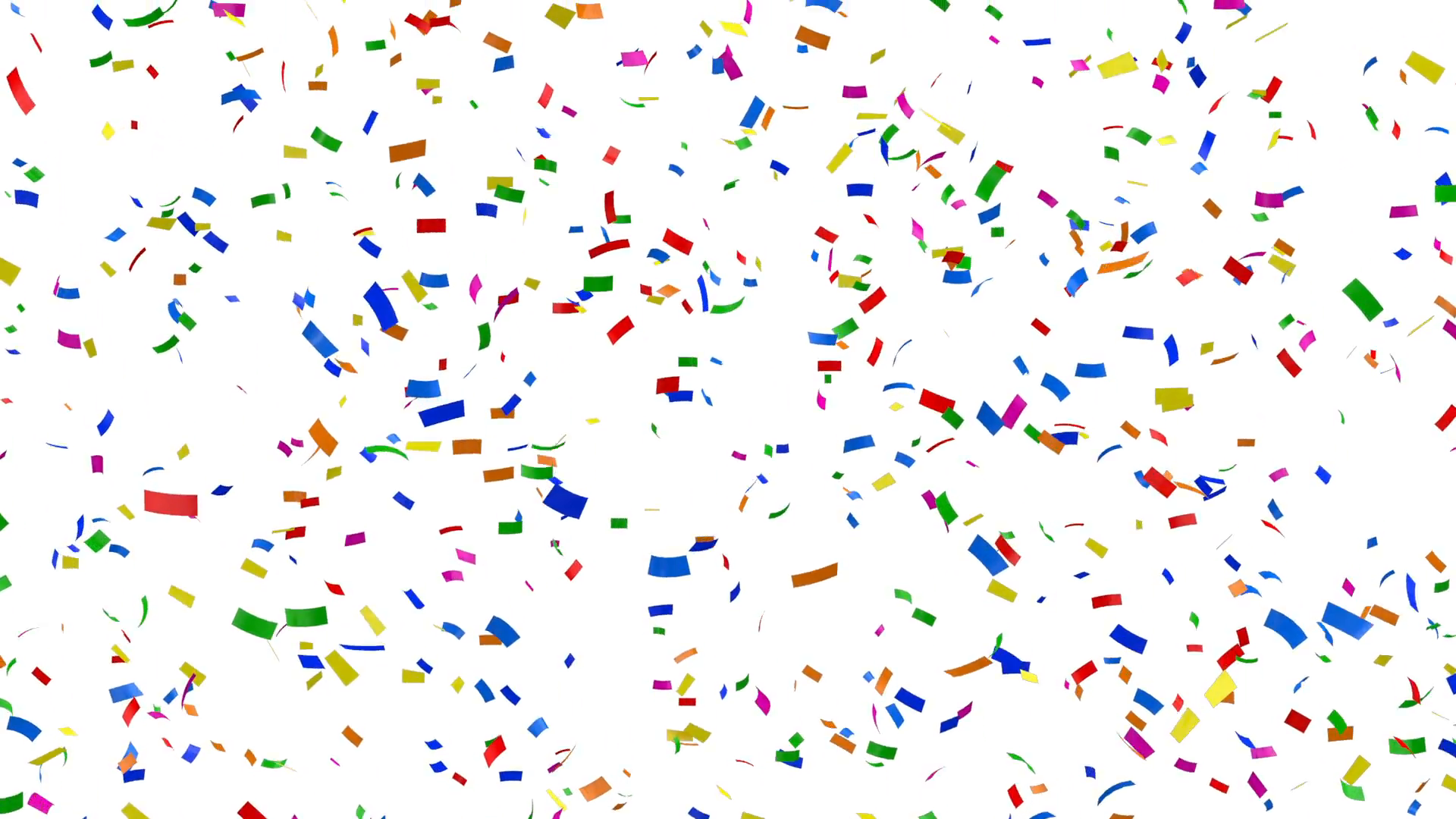 Background Hq Png - Download Free png Falling Colorful Confetti on white background ...