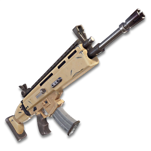 Fortnite Guns Png - Download Free png Image - Icon Weapons SK SCAR L.png   Fortnite ...