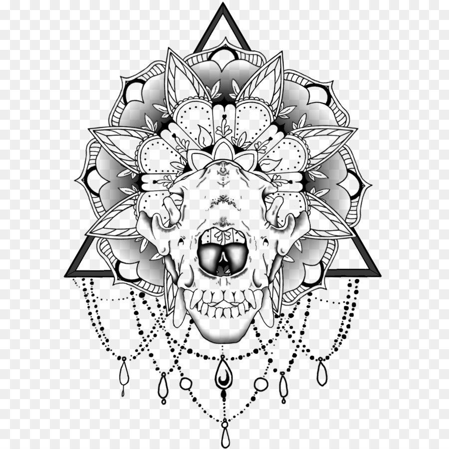 Chest Tattoo Png - Download Free png Mandala Skull Tattoo Wiki - chest tattoo png ...