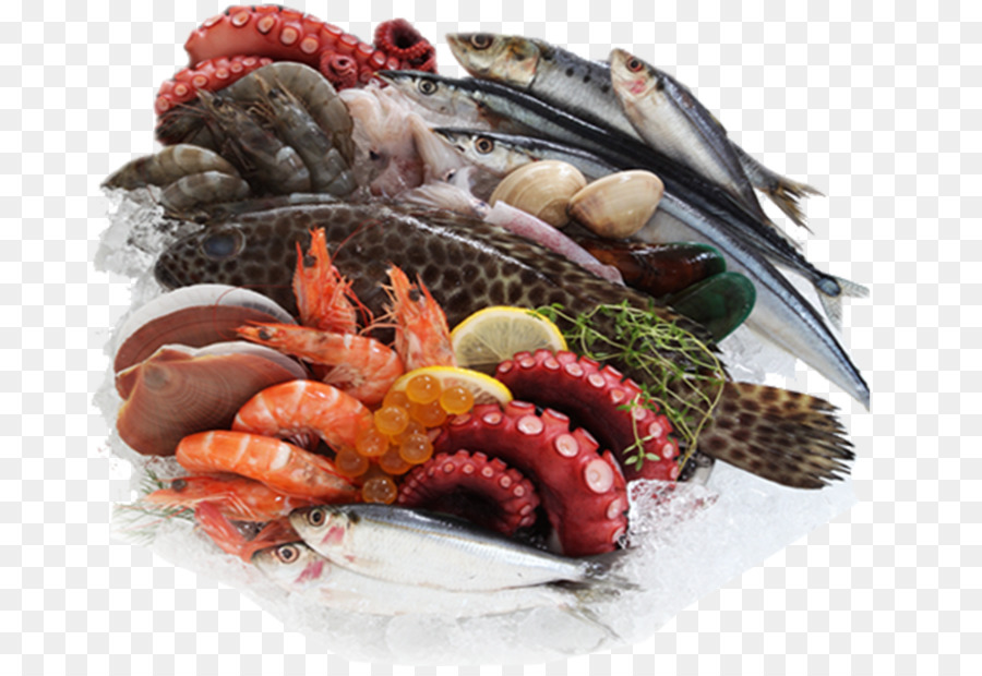 Fish And Seafood Png - Download Free png Pizza Chocolate bar Seafood Fish - Shrimp png ...