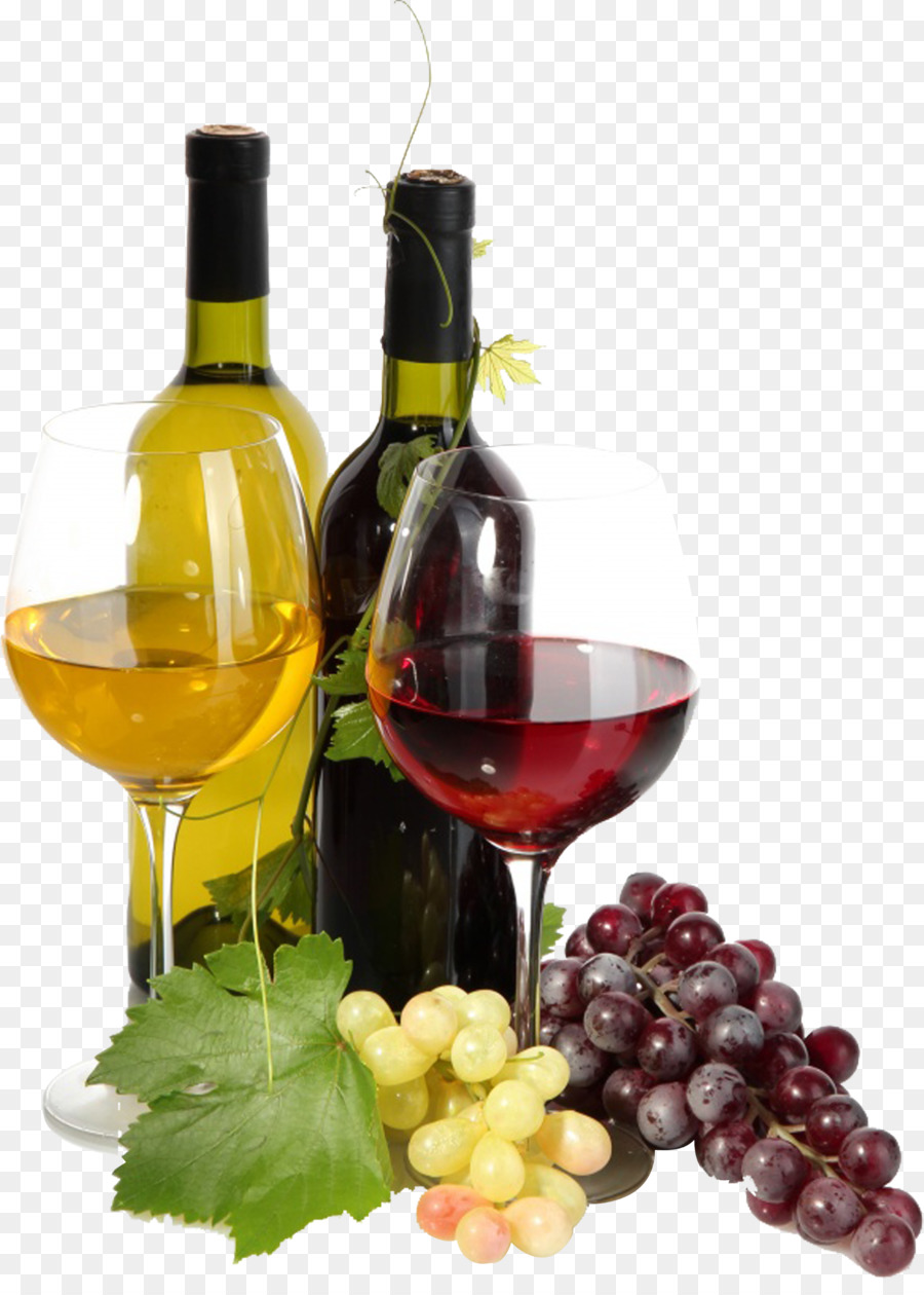Wine Bottle And Grapes Png - Download Free png Red Wine Common Grape Vine Must - Wine and ...