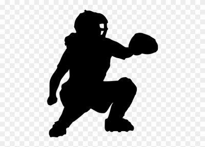Softball catcher. Download free png silho