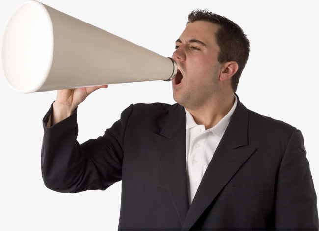 Man Shouting Png - Download Free png The Man Shouting At The Horn, Man Clipart, The ...