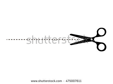 Cut Here Png - Download Free png The scissors icon. Cut here s - DLPNG.com