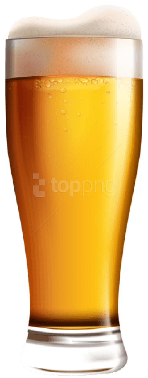 Beer Png Free - Download glass with beer png images background   TOPpng