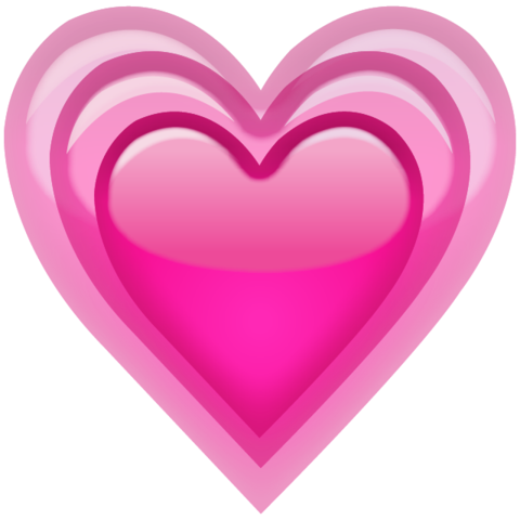 Pink Heart Emoji Png - Download Growing Pink Heart Emoji Icon | Emoji Island