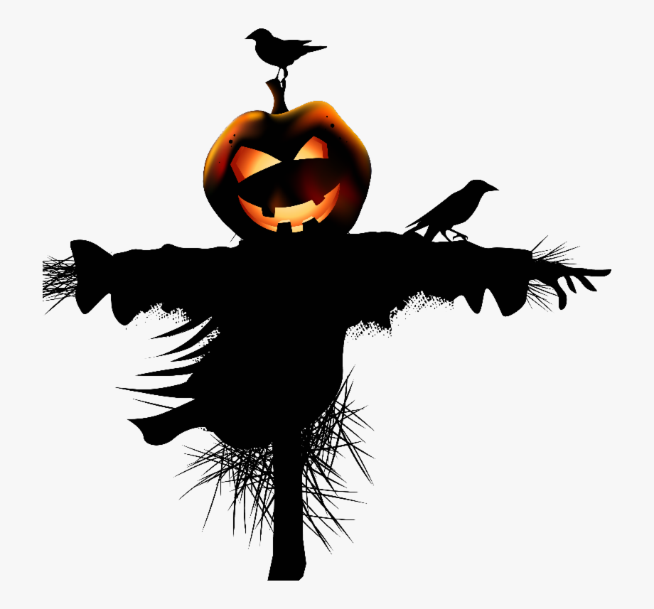 Scarecrows And Pumpkins Png - Download Halloween House Hq Png Image Creepy Halloween ...