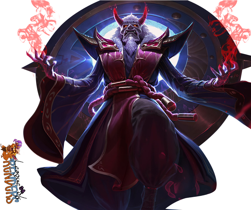 Zilean Png - Download HD Blood Moon Zilean Png Transparent PNG Image - NicePNG.com