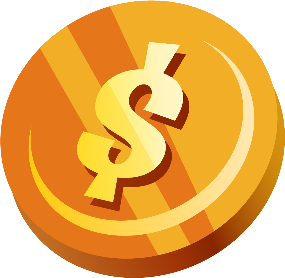 Coin Vector Png - Download HD Coins Clipart Vector Png - Transparent Coin Vector Png ...