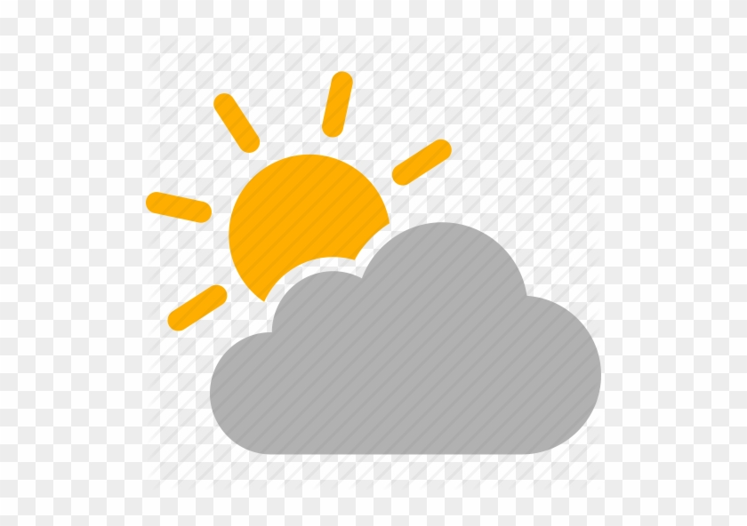 Partly Cloudy Weather Png - Download Icon - Mostly Cloudy Weather Icon - Free Transparent PNG ...