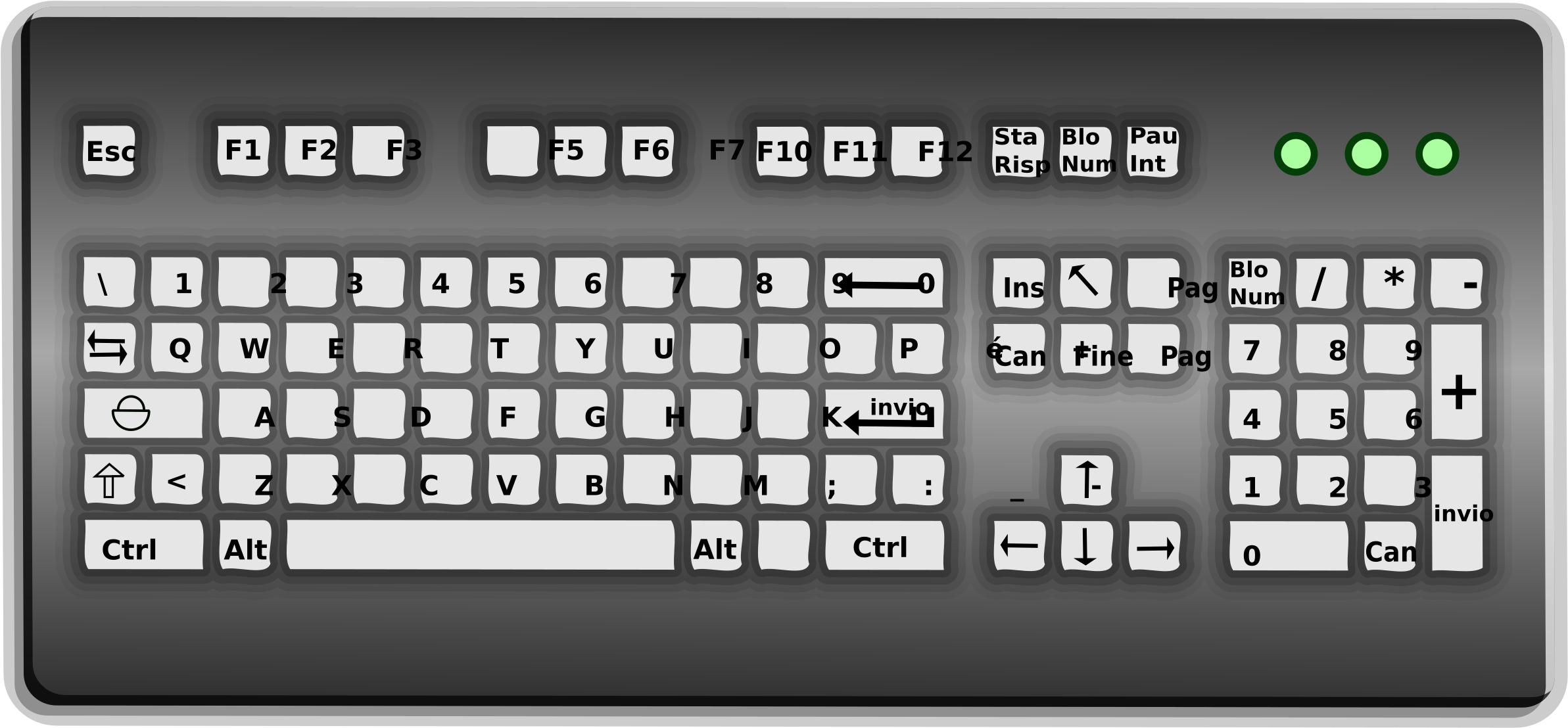 Download Keyboard Graphic Library Downlo 1902558 Png Images Pngio