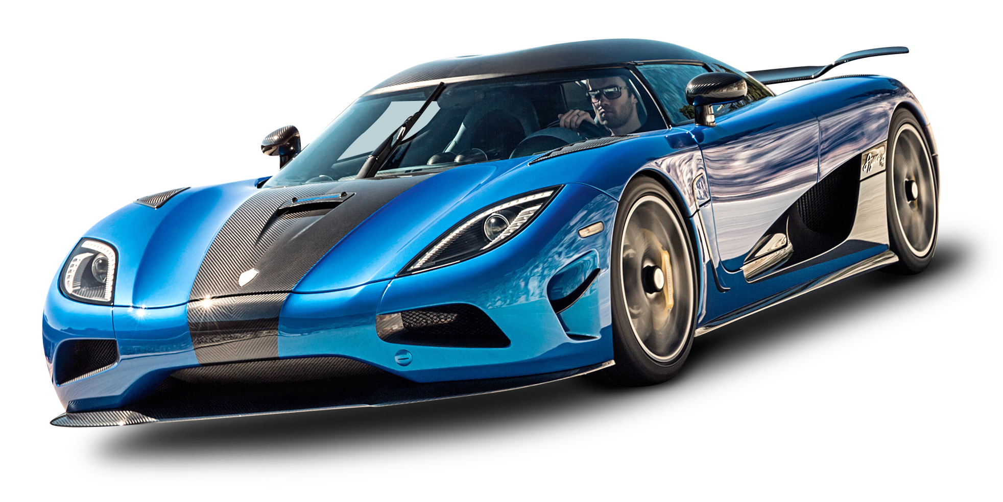 Koenigsegg Agera Png - Download Koenigsegg Agera Blue Car PNG Image for Free