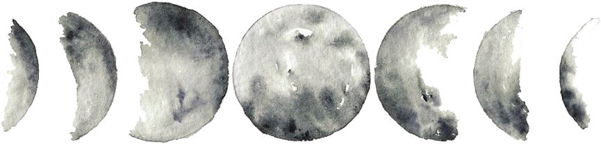 Phases Of The Moon Png & Free Phases Of The Moon.png Transparent Images  #44356 - PNGio