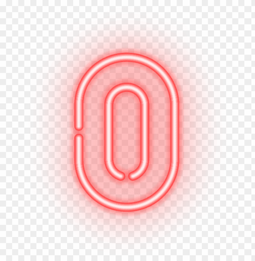 Neon Numbers Png - Download number zero neon clipart png photo | TOPpng