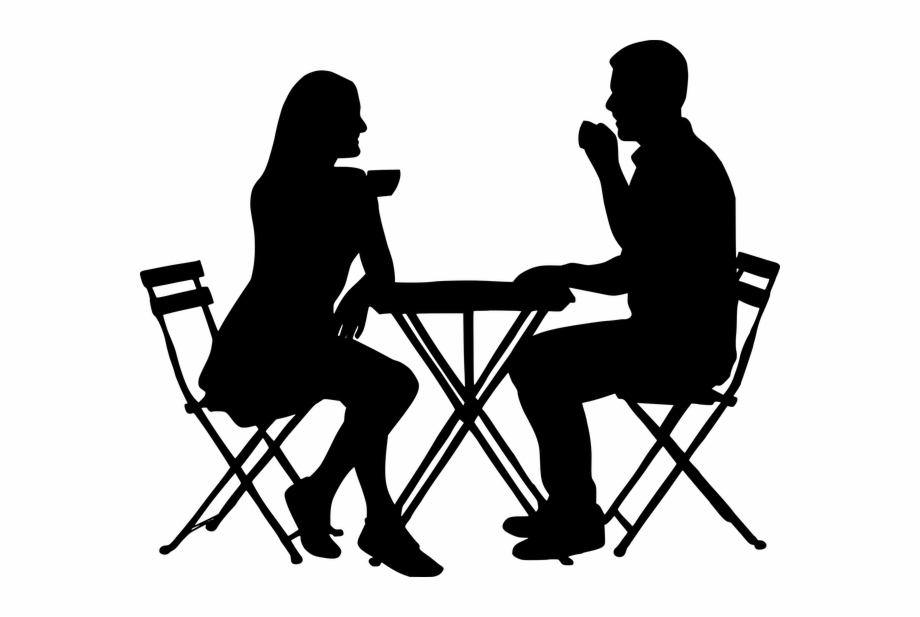 Table Silhouette Png - Download People Sitting At Table Silhouette Png - Transparent PNG ...