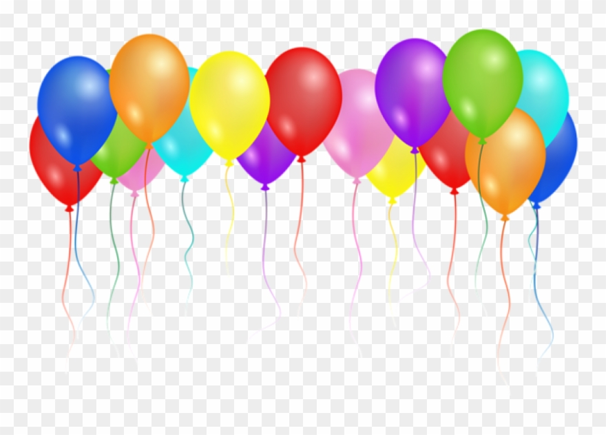 Happy Birthday Ballons Png - Download Png Images Background Transparent Background - Happy ...