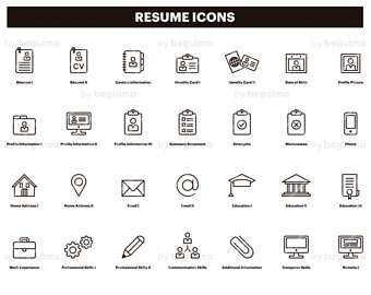 Download Resume Icon 341494 Free Icon 1149640 Png Images Pngio